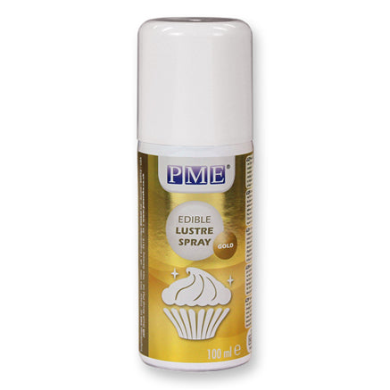 PME Edible Lustre Spray, Gold
