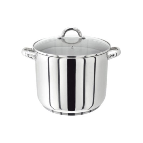 Judge Vista Stockpot With Glass Lid, 22cm/9""