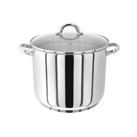 Judge Vista Stockpot With Glass Lid, 24cm/9.5""