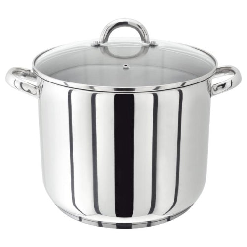 Judge Vista Stockpot With Glass Lid, 28cm/11""