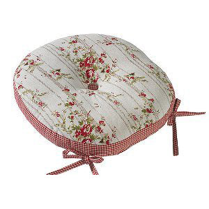 Walton & Co Rose Cottage Round Seat Pad