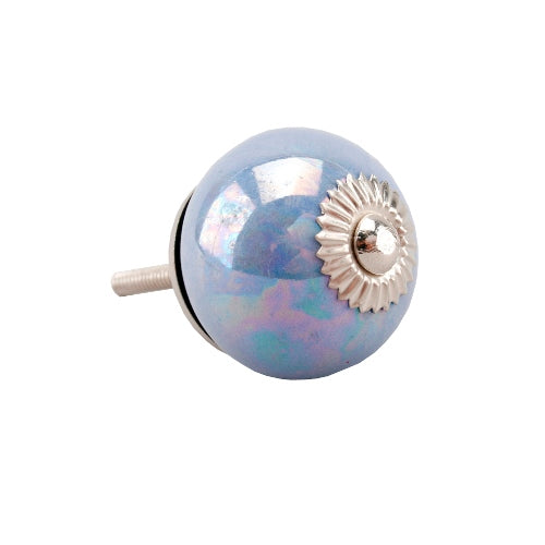 Pearlescent Drawer Knob, Lilac