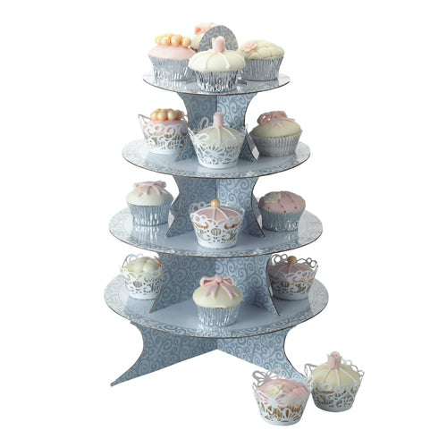 4 Tier Fold Up Card Cake Stand