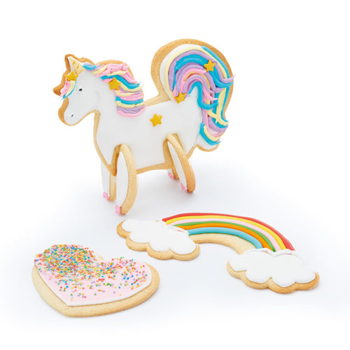 3D Standing Unicorn Cookie Cutter Set