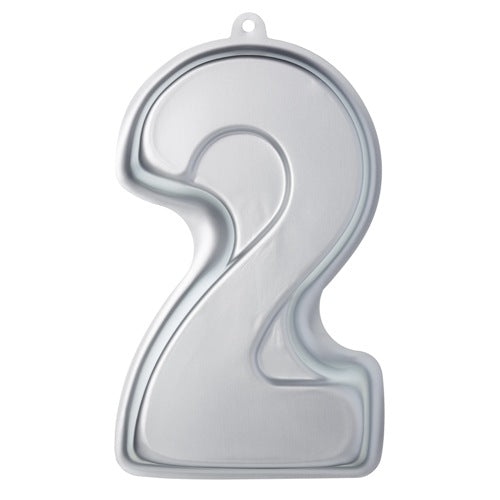 Sweetly Does It Silver Anodised Shaped Cake Pan, Number 2
