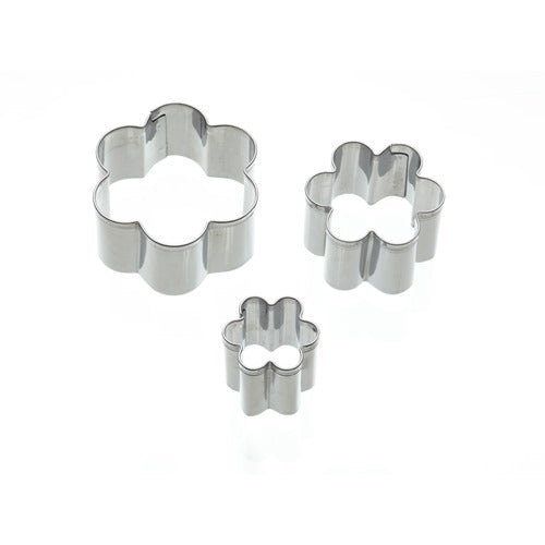 Kitchencraft Flower Fondant Cutters, Set Of 3
