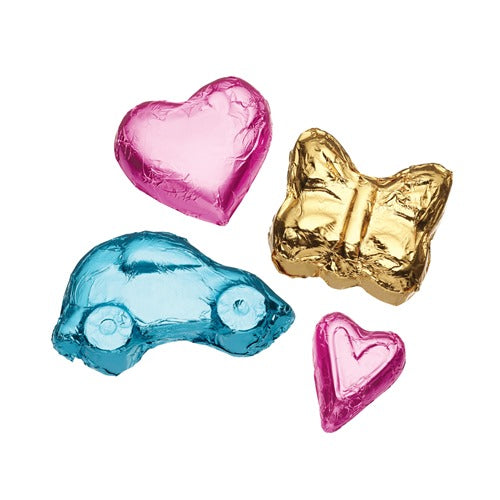 Chocolate Foil Wrappers, 15cm, Pack Of 12