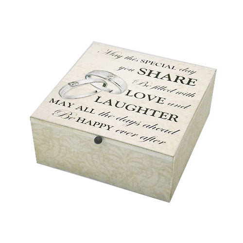 'Special Day' Wedding Keepsake Box
