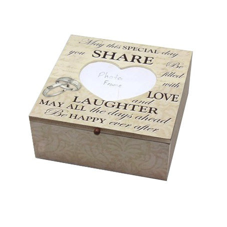 'May This Special Day...' Memory/Keepsake Box