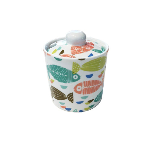 Shannonbridge Pottery Ahoy Sugar Bowl