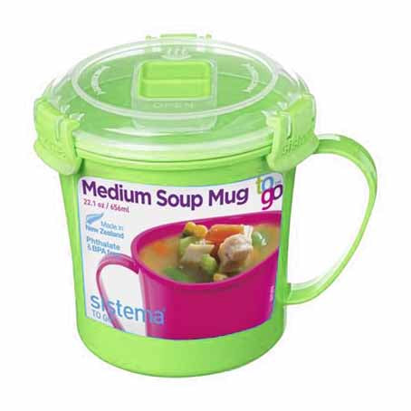 Sistema Soup Mug To Go, 656ml, Green