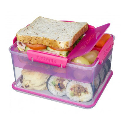 Sistema Lunch Tub To Go, 2.3l,  Pink