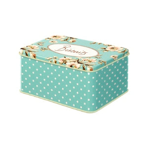 Katie Alice Cottage Flower Rectangular Tin Small