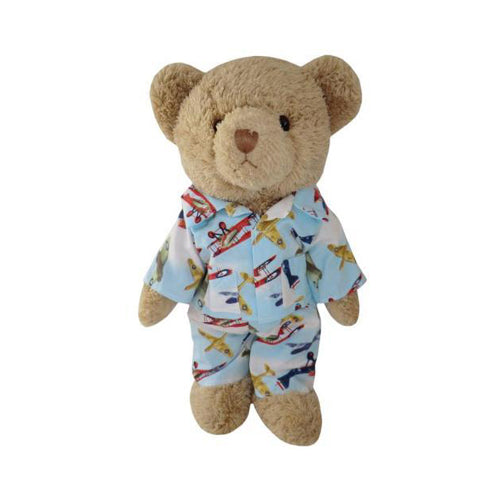 Teddy Bear With Airplane Pyjamas