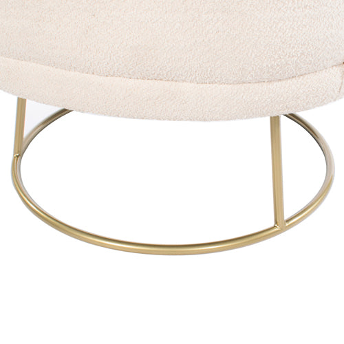 Mona Accent Chair, Ivory