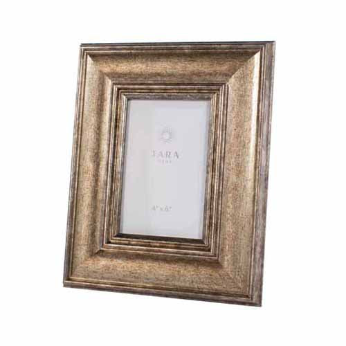 "Leo Photo Frame, 4"" x 6"", Vintage Gold**DUE SOON**"