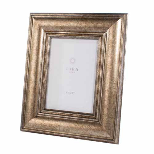 "Leo Photo Frame, 5"" x 7"", Vintage Gold**DUE SOON**"