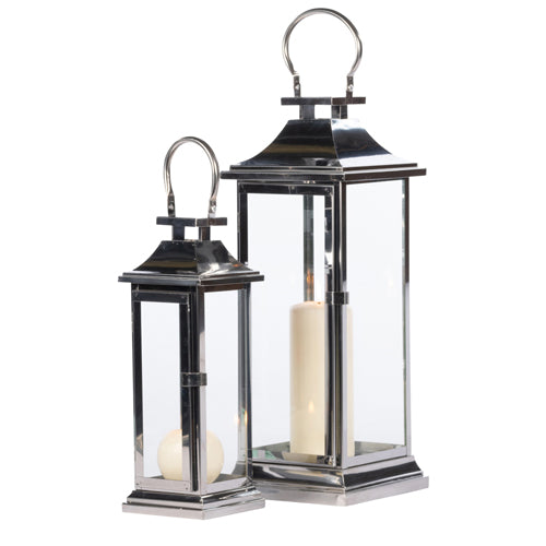 NAVAS CHROME LANTERN, SMALL