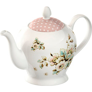 Katie Alice Cottage Flower Teapot, 6 Cup
