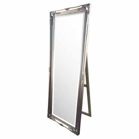 Chateau Cheval Mirror, Silver