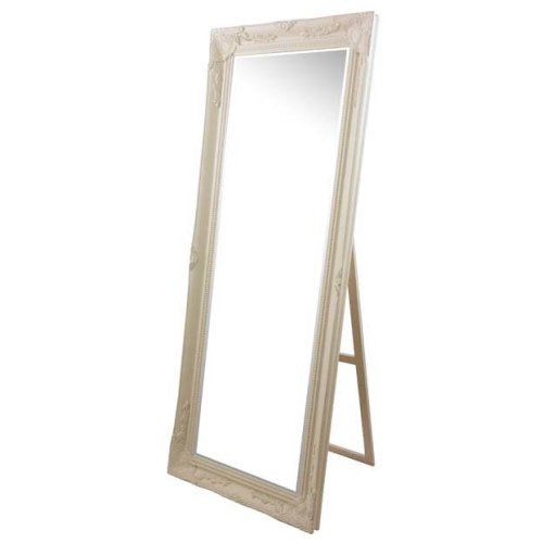 Chateau Cheval Mirror, Cream