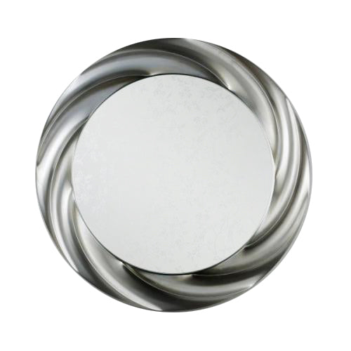 Reflections Swirl Mirror, 90cm, Champagne