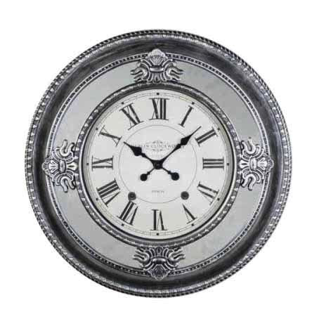 Dublin Clockworks Mirrored Antique Clock, 66cm