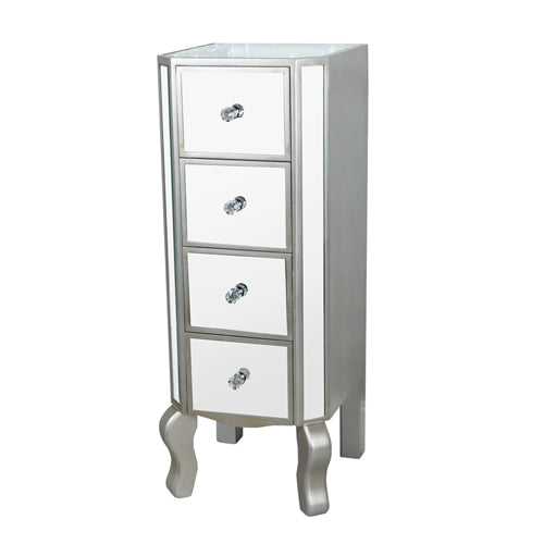 Reflections 4 Drawer Mini Tallboy, 87cm**DUE APRIL**