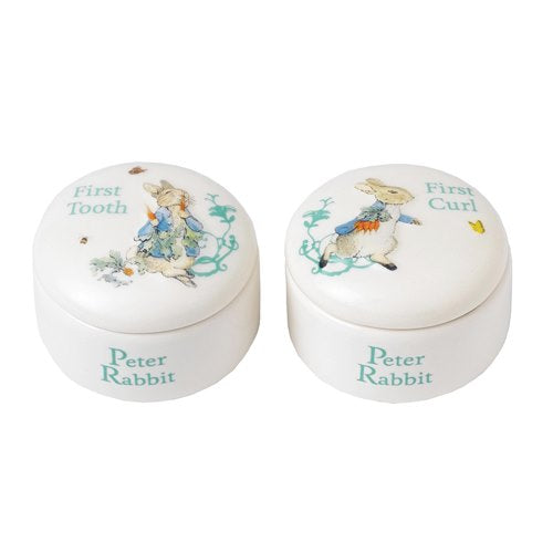 Peter Rabbit First Tooth & Curl Box