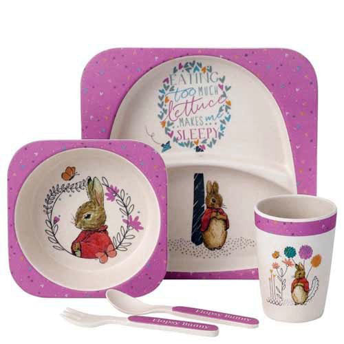 Beatrix Potter Flopsy Eco Friendly Organic Dinner Set