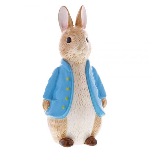 Beatrix Potter Sculpted Money Bank, Peter Rabbit