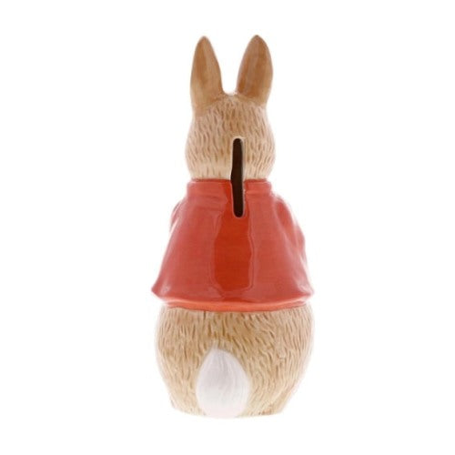 Beatrix Potter Sculpted Money Bank, Flopsy