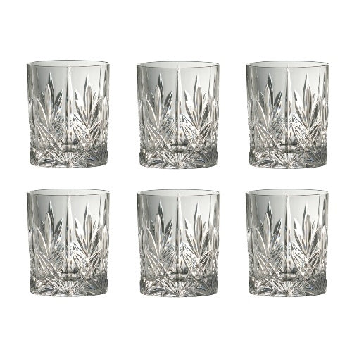 Galway Crystal Abbey Old Fashioned Tumbler, Set Of 6