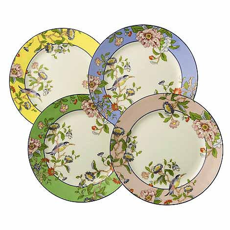 Aynsley Pembroke Plates, Set Of 4