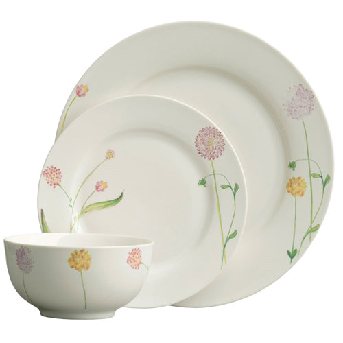 Aynsley Bloom 12 Piece Dinner Set
