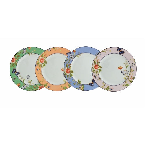 Aynsley Cottage Garden Plates, Set Of 4