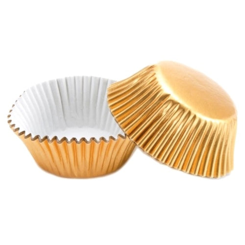 PME Standard Baking Cases, Metallic Gold, Pack Of 30