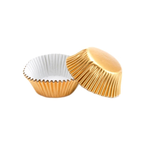 PME Mini Baking Cases, Metallic Gold, Pack Of 45