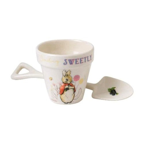 Beatrix Potter Flopsy Egg Cup & Spoon Set