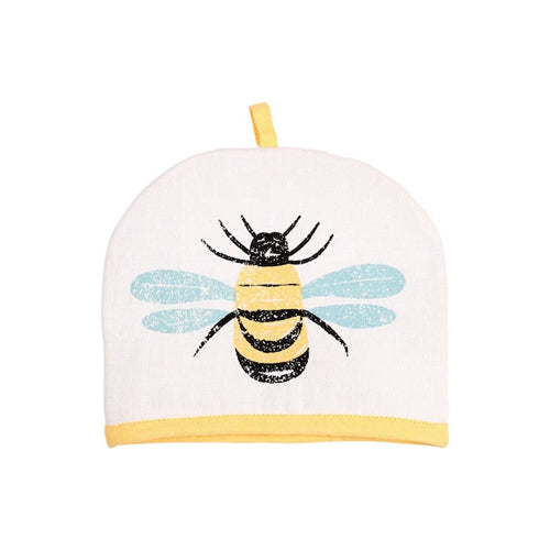Bees Knees Yellow Tea Cosy, 2 Cup
