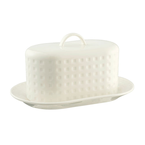 Belleek Living Grafton Butter Dish