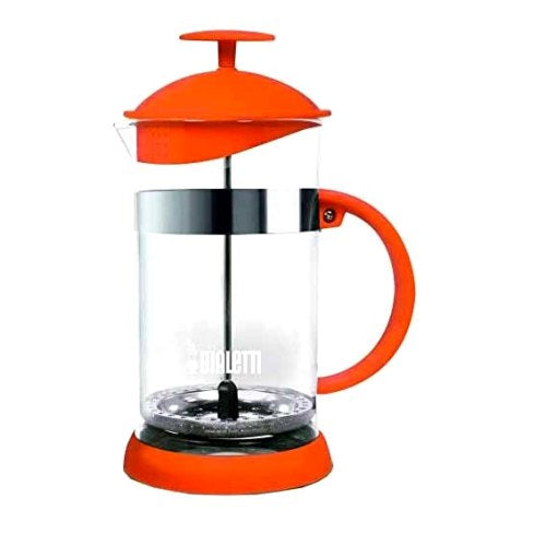 Bialetti Joy Coffee Press/Cafetiere, 8 Cup, Orange