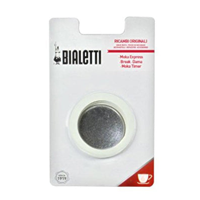 Bialetti Replacement Filter/Gasket, 2 Cup