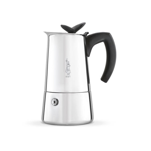 Bialetti Musa Induction Caffettiera/Espresso Maker, 4 Cup