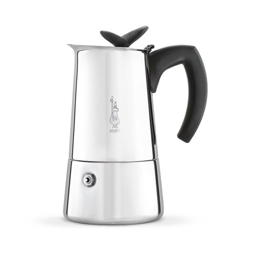 Bialetti Musa Induction Caffettiera/Espresso Maker, 6 Cup