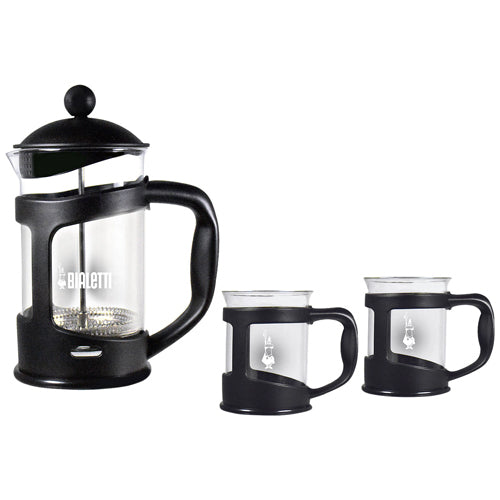 Bialetti French Press Coffee & Mug Set