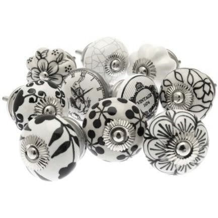 Drawer Knobs, Set Of 10, 38-42mm (g90a)