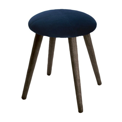 NEW YORK FOOT STOOL, OXFORD BLUE