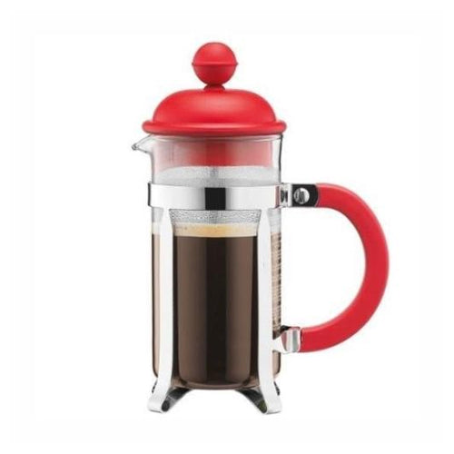 Bodum Caffettiera French Press, Red, 3 Cup