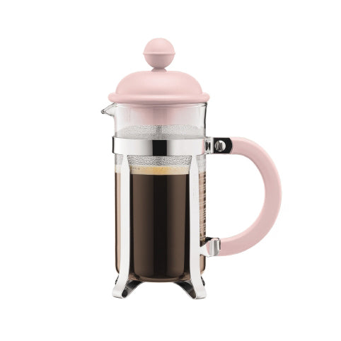 Bodum Caffettiera Coffee Maker, 3 Cup, Strawberry